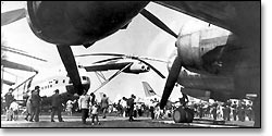 День открытых дверей в День воздушного флота, 1975 г.
